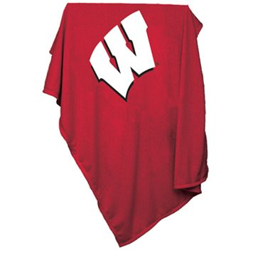 Wisconsin Badgers Sweatshirt Blanket