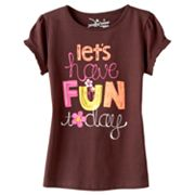 Jumping Beans Lets Have Fun Today Tee - Girls 4-7