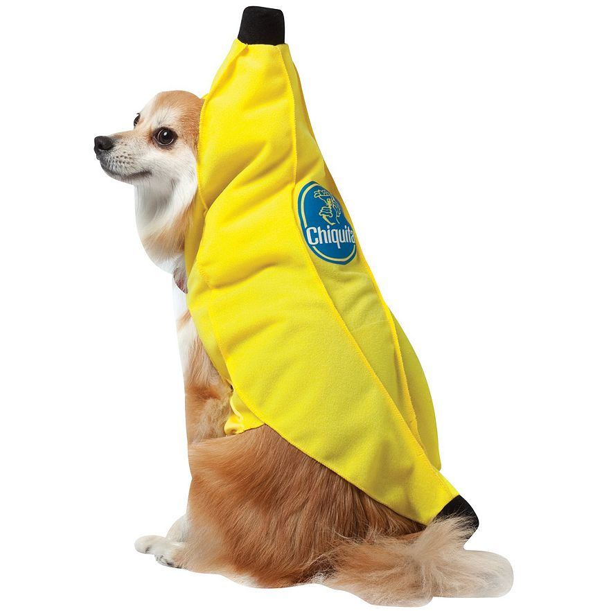 chiquita banana costume for pets