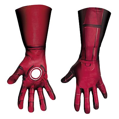 The Avengers Iron Man Mark VII Deluxe Costume Gloves - Adult