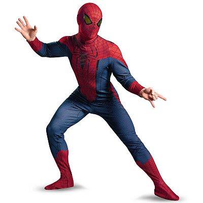 The Amazing Spider-Man Deluxe Costume - Adult Plus