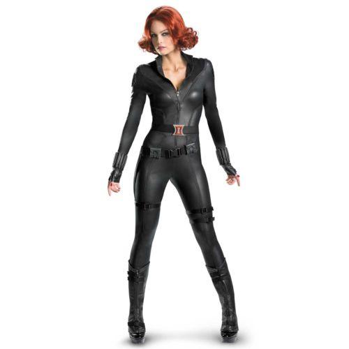 The Avengers Black Widow Elite Costume - Adult