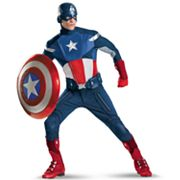 The Avengers Captain America Elite Costume - Adult Plus