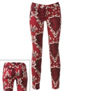Energie Paisley and Animal Skinny Jeans - Juniors