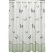 Croft and Barrow Eden Park Fabric Shower Curtain