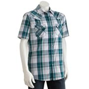 SONOMA life + style Plaid Western Casual Button-Down Shirt