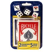 Bicycle Card Decks and Dice Set