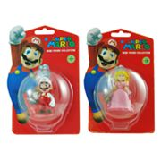 Super Mario 2-pk. Mario and Peach Mini Figure Collection - Series 3