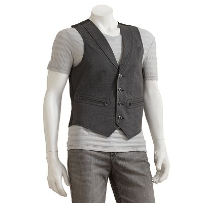 Rock and Republic Plaid Vest