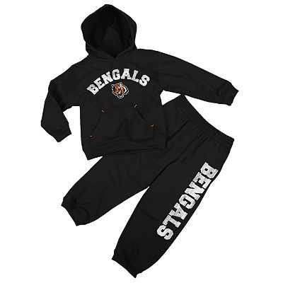 Cincinnati Bengals Fleece Hoodie and Pants Set - Baby