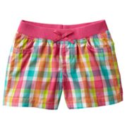 Jumping Beans Plaid Shorts - Toddler