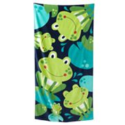 Jumping Beans Frogs Beach Towel