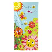 Jumping Beans Flower Bug Beach Towel