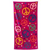 Jumping Beans Peace Beach Towel