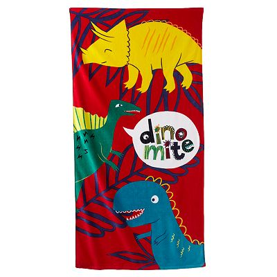 Jumping Beans Dinomite Beach Towel