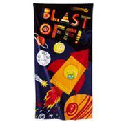 Jumping Beans Blast Off Beach Towel