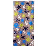Jumping Beans Skull Toss Beach Towel