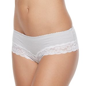 Juniors' SO® Cheeky Lace Panty