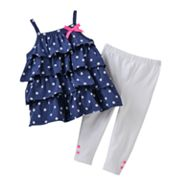 Carter's Polka-Dot Top and Leggings Set - Baby