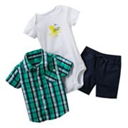 Carter's Octopus Shorts Set - Baby