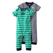 Carter's 2-pk. Striped Coveralls - Baby