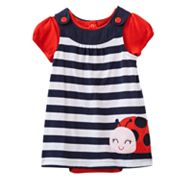 Carter's Ladybug Jumper and Bodysuit Set - Baby
