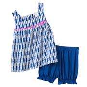 Carter's Geometric Top and Shorts Set - Baby