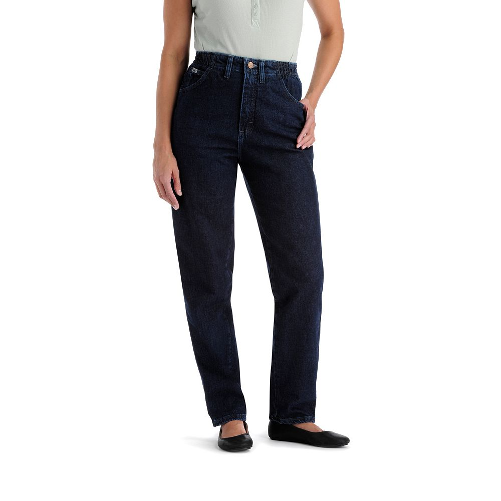 5c91a01f33b3c Women s Lee Relax Fit Side-Elastic Jeans