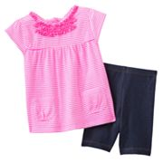 Carter's Striped Top and Jeggings Set - Baby