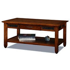 Leick Furniture Rustic Coffee Table