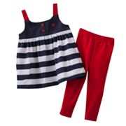 Carter's Striped Tunic and Pants Set - Baby