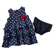 Carter's Polka-Dot Tiered Dress - Baby