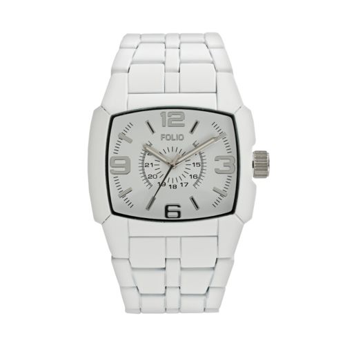 Folio White Watch - FMDMSG011 - Men