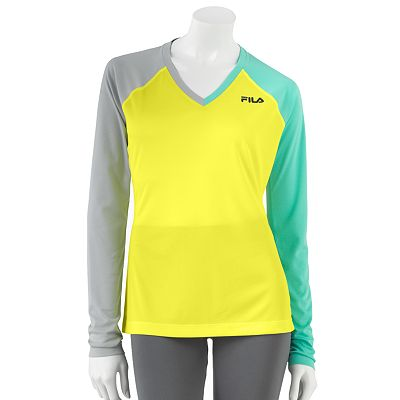 FILA SPORT Colorblock Performance Tee