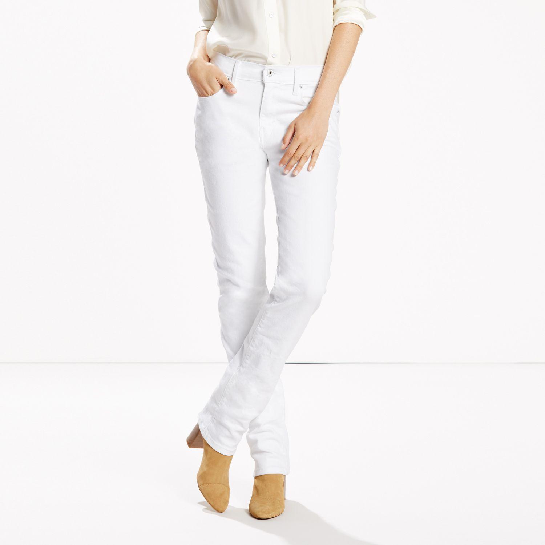 Junior White Jeans Billie Jean