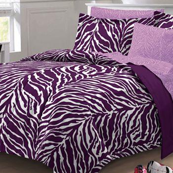Animal print kids 39 room teens bedding bed bath kohl 39 s - Teen cheetah bedding ...