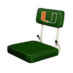 Miami Hurricanes Hardback Seat