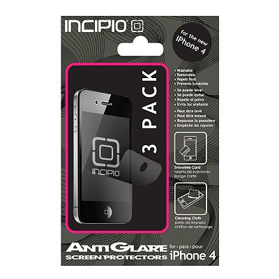Incipio 3-pk. iPhone 4 Anti-Glare Screen Protectors