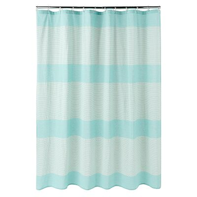 SONOMA life + style Oceanside Striped Fabric Shower Curtain