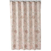 Apt. 9 Trace Floral Fabric Shower Curtain
