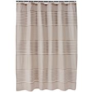 Apt. 9 Trace Pintuck Fabric Shower Curtain