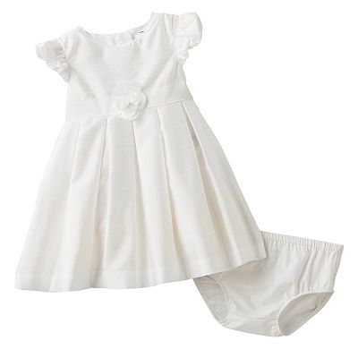 Carter's Rosette Pleated Dress - Baby