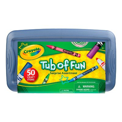 Crayola Tub of Fun Set