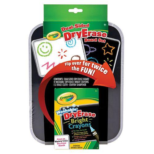 Crayola Dual-Sided Dry Erase Board Set
