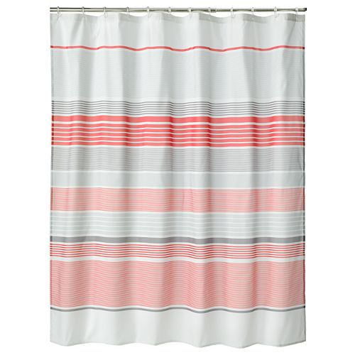 Apt. 9® Contrast Striped Fabric Shower Curtain