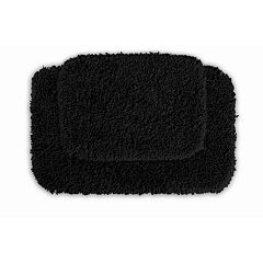 Garland Shag Nylon 2 pc Bath Rug Set