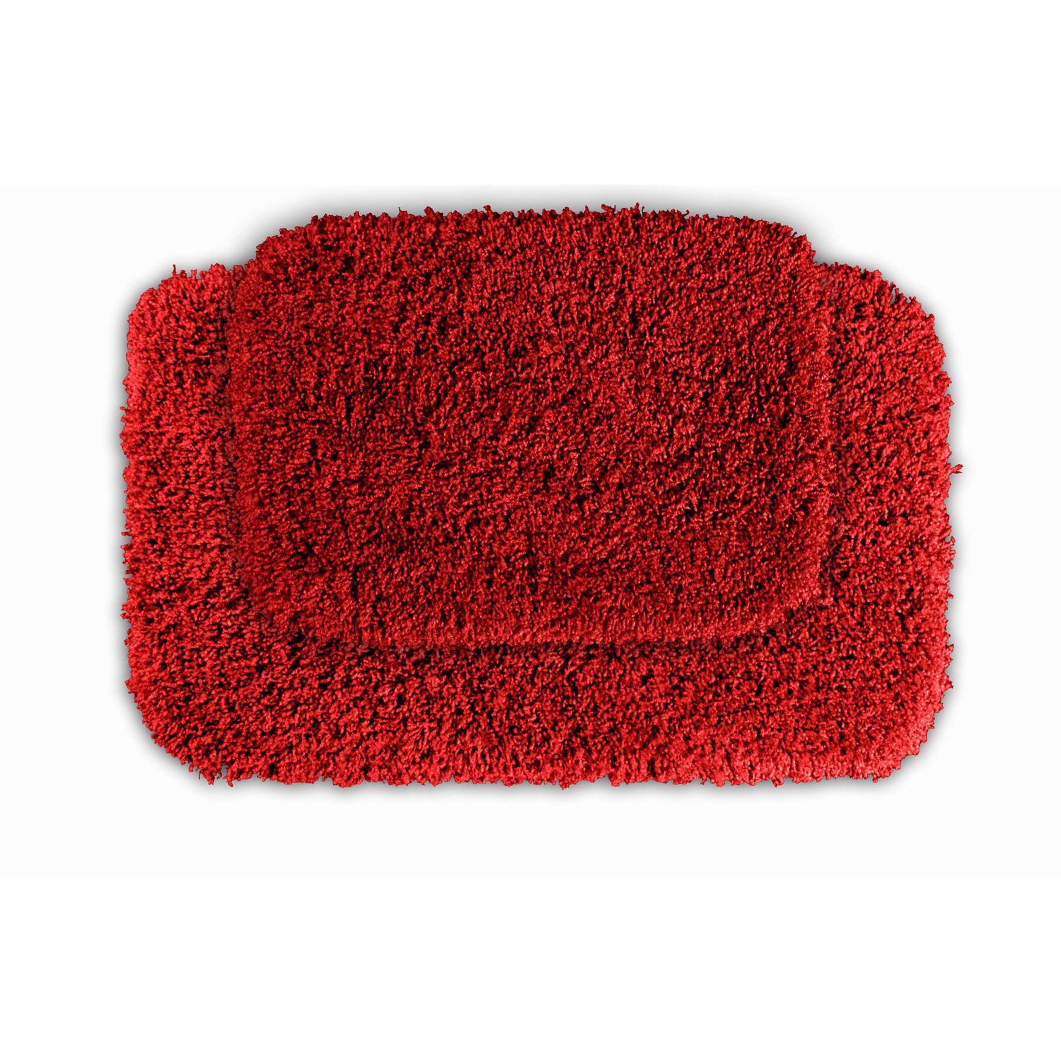 Red Bath Rugs Home Decor