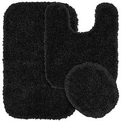 Garland Shag Nylon 3 pc Bath Rug Set