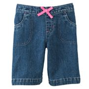 Jumping Beans Denim Bermuda Shorts - Girls 4-7