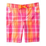 Jumping Beans Plaid Bermuda Shorts - Girls 4-7